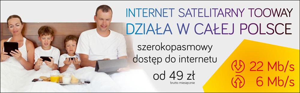 Promocja internet satelitarny