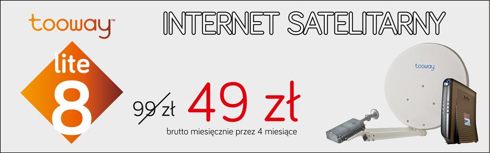 Internet satelitarny od 49 zł