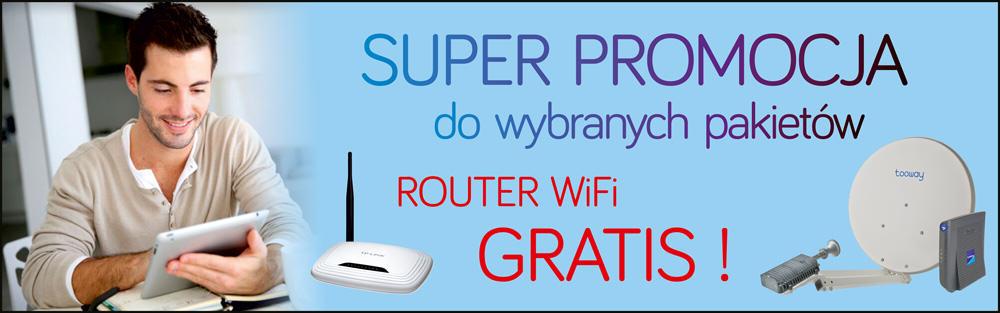 Promocja Tooway - router gratis