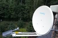 Inernet satelitarny w górach