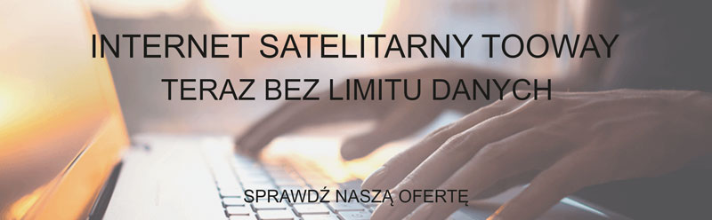 Internet satelitarny bez limitu