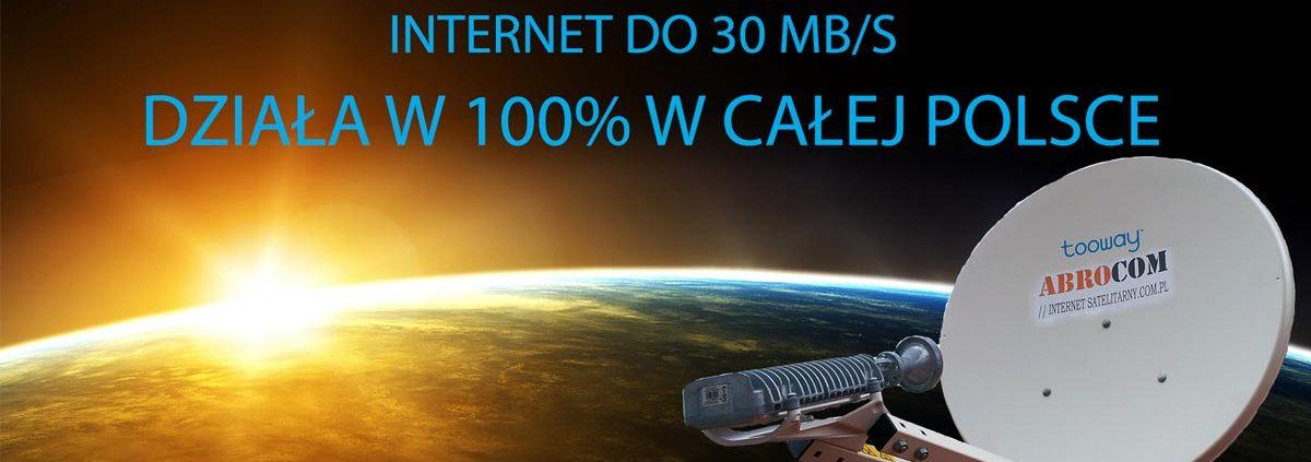 Internet satelitarny zamiast CDMA