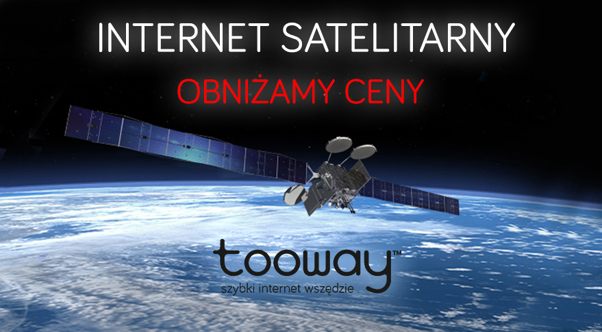 Internet satelitarny dla leśniczówek