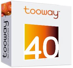 internet tooway 40 gb