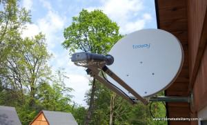 internet satelitarny - instalacja internetu tooway